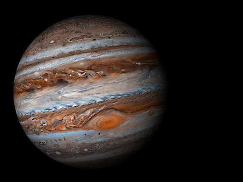 Spazio: l'esistenza della vita terrestre è dovuta anche a Giove