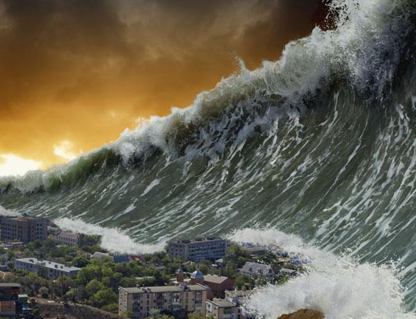 Perché lo stop della rotazione terrestre provocherebbe giganteschi tsunami?