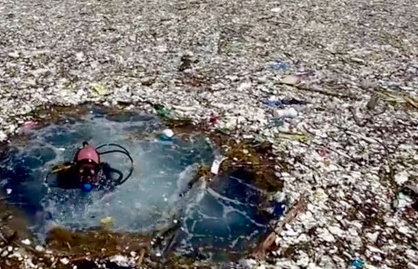 Isola di plastica nel Pacifico: è più grande del previsto