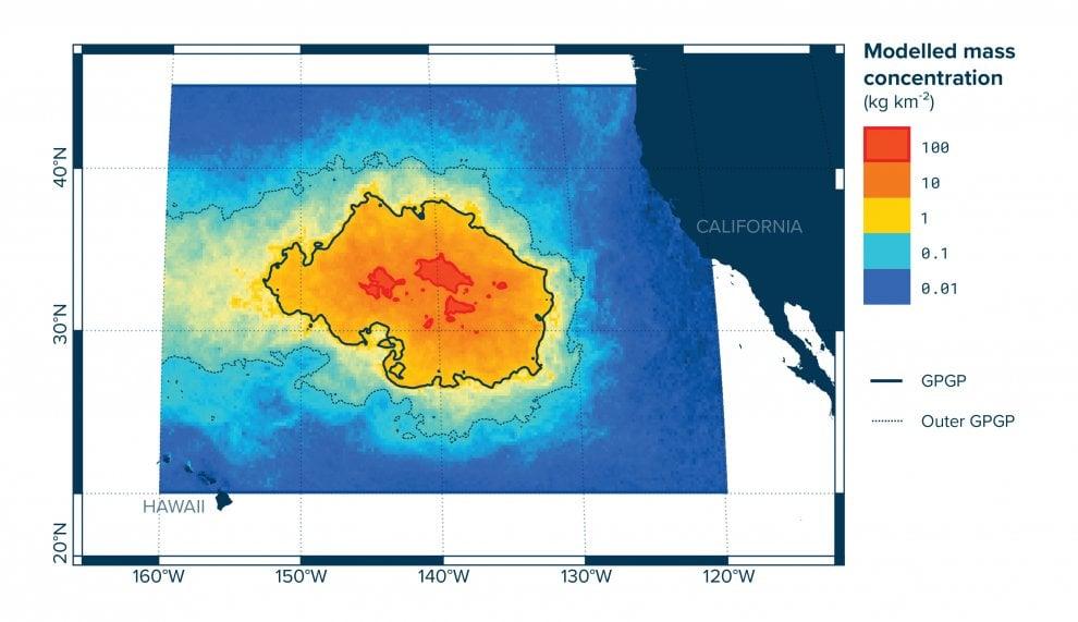 Ambiente: l'isola di plastica è 16 volte più grande del previsto