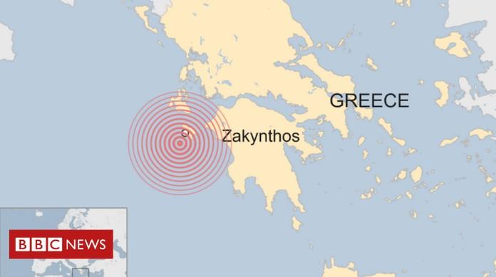 Terremoto Grecia: scossa a Zante, trema lo Ionio