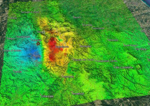 Terremoto Centro Italia: scoperta un 'volume fantasma' in profondità