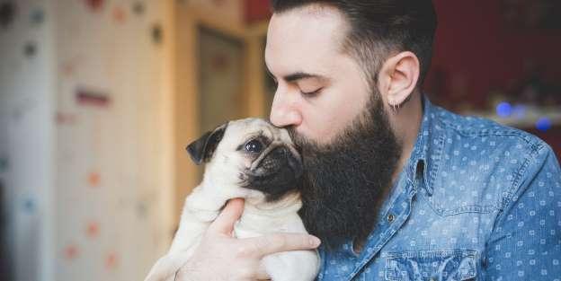 Salute: la barba contiene più batteri del pelo dei cani
