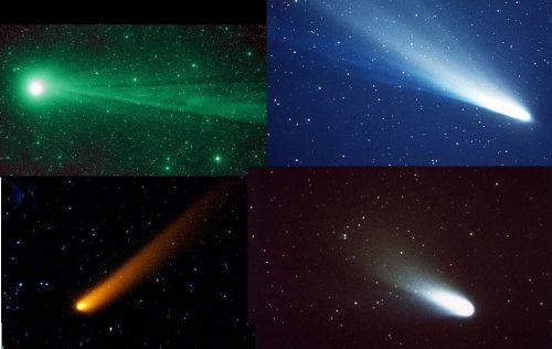Perché le comete hanno colori diversi?