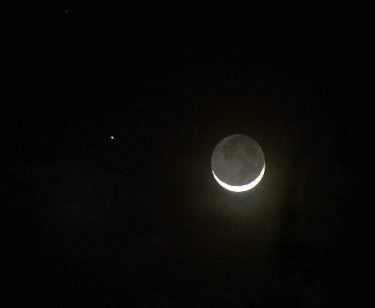 Congiunzione Marte Luna, poche ore allo spettacolo
