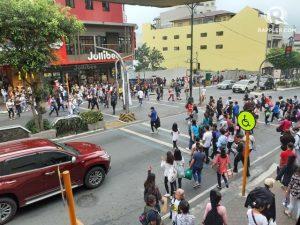 Terremoto Filippine: terrore a Manila. Il video