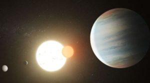 Scoperto terzo pianeta nel sistema con due soli, sono come Tatooine
