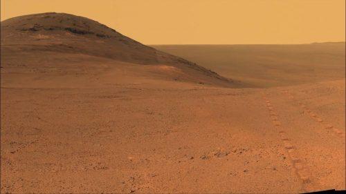 Metano da Marte: scoperta fuoriuscita di gas nel Cratere Gale