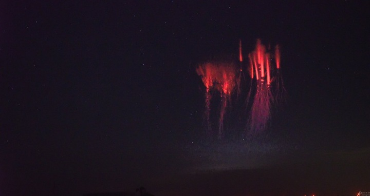 Red Sprite: le immagini del rarissimo fenomeno negli USA