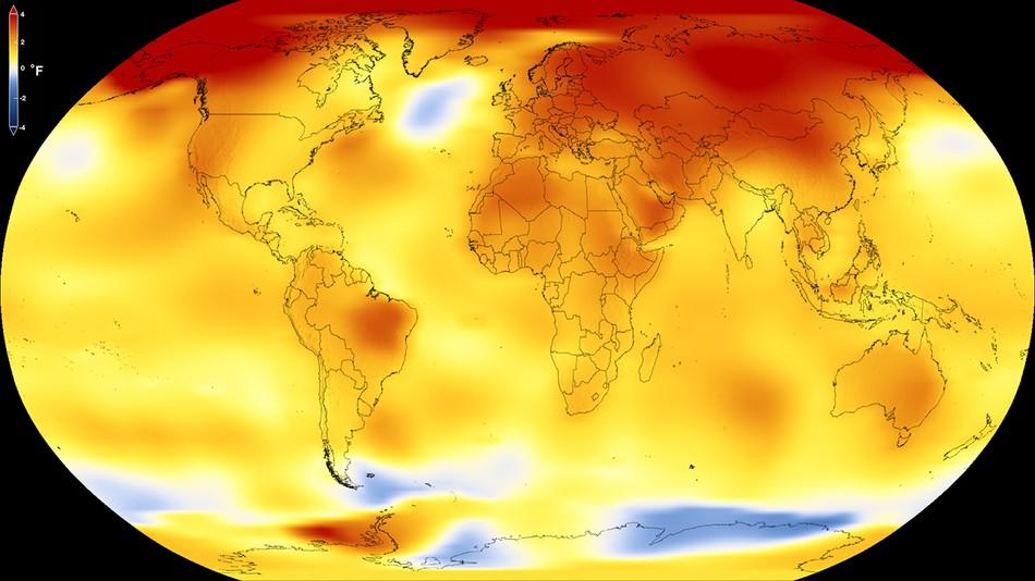 Terra: la concentrazione di CO2 è la stessa del Pliocene