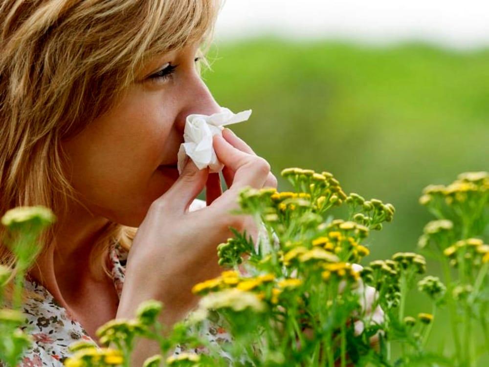 Allergia pollini: ecco i sintomi più comuni
