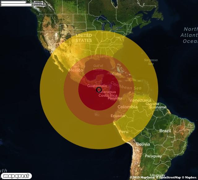 Terremoto El Salvador: scossa di 6,6 gradi. Allerta tsunami