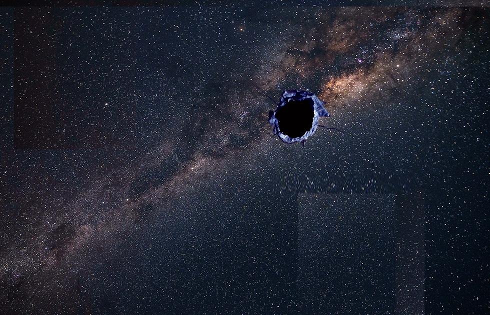 Misterioso oggetto ha prodotto un buco nella nostra galassia