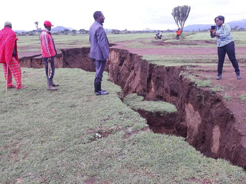 Africa: voragini nella zona del Lago di Naivasha. Paura tra la popolazione