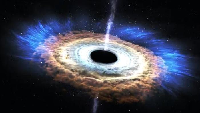 Spazio: enorme vortice di gas 'freddo' al centro della Via Lattea
