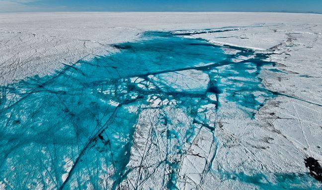 Scoperti 56 laghi nascosti sotto i ghiacci della Groenlandia