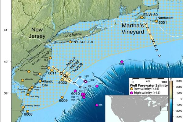 Scoperto un enorme lago nascosto sotto l'oceano Atlantico