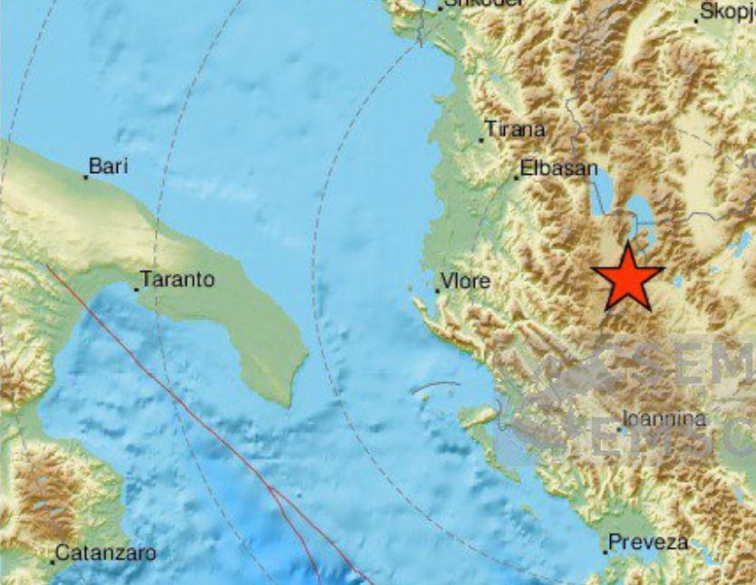 Triplo terremoto in Albania, scossa M 4.9 avvertita anche in Italia