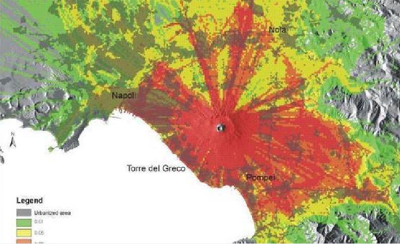 Vesuvio, maxi piano di evacuazione per 1,1 mln di abitanti in caso di eruzione