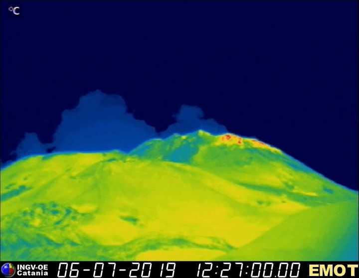 Etna: registrate forti esplosioni. Il livello passa a rosso