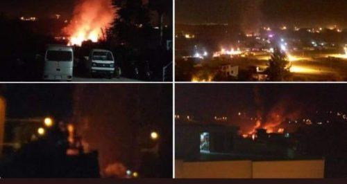 Aereo si schianta sulle case e provoca un incendio: almeno 19 morti e 10 feriti