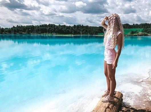 Russia: le Maldive di Novosibirsk, il 'lago mortale' che spopola su Instagram