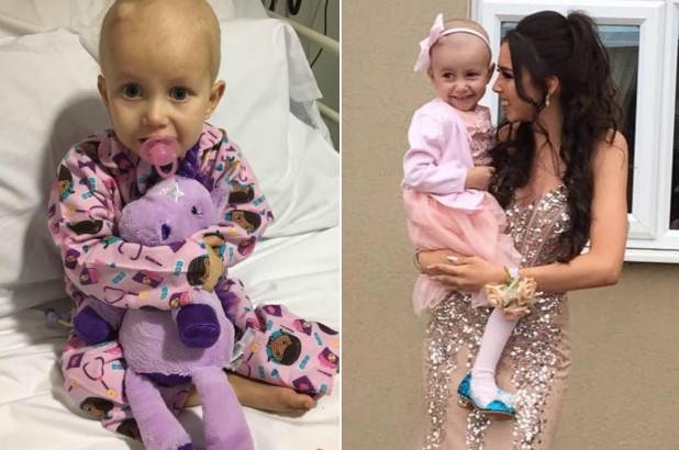Bimba di 3 anni ha un cancro incurabile, esaudisce il suo più grande desiderio