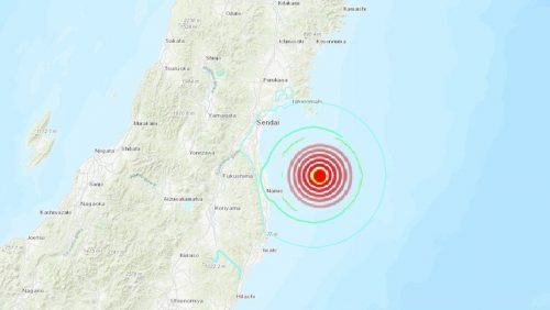 Terremoto Fukushima: scossa di 6.1 gradi