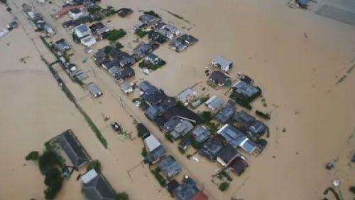 In Giappone alluvioni