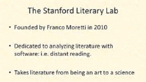 Analizzare il corpus di opere letterarie digitalizzate. Come fare?