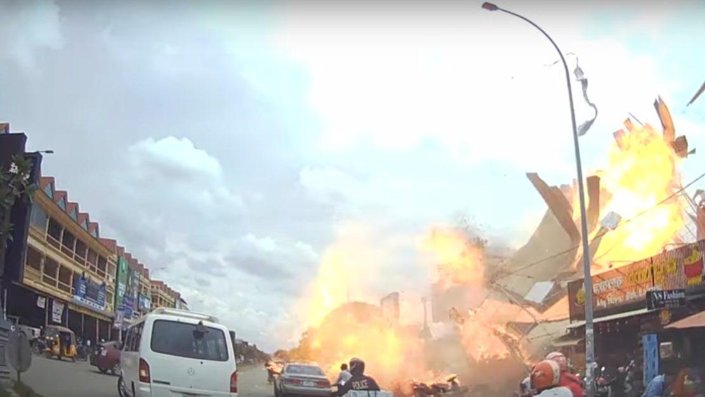 Cambogia, esplode stazione di servizio. Un morto e 13 feriti