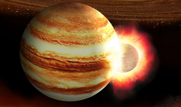Spazio: Giove ha 'fagocitato' un altro pianeta