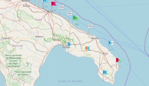 Inconsueta proliferazione di alga tossica al sud, le zone colpite
