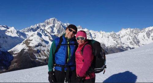 Precipitato sul Monte Bianco, morto dopo giorni di agonia