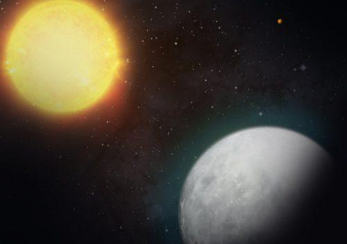 LHS 3844b, il gemello della Terra privo di atmosfera