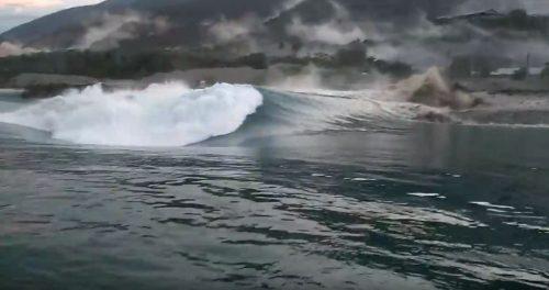 Terremoto Indonesia: tsunami colpisce peschereccio. Il video