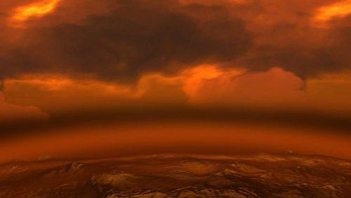 Venere: colossale rilascio di CO2 ha reso il pianeta un inferno