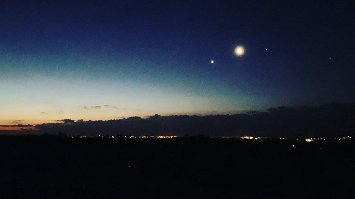 Congiunzione Luna, Giove e Antares. In arrivo lo spettacolo astronomico