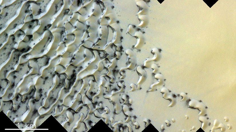 Dune su Marte, le impressionanti immagini di ExoMars