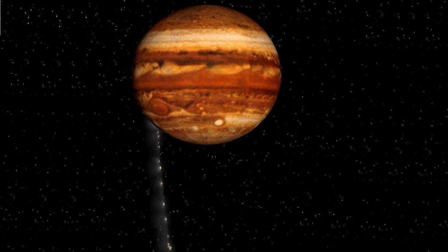 Giove è stato colpito da un meteorite di 450 tonnellate. La scoperta