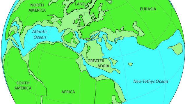 Adria maggiore: scoperto enorme continente 'perduto'