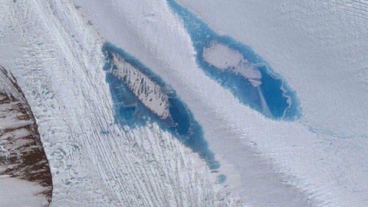 """Antartide: scoperti 65mila laghi di """"ghiaccio sciolto"""". L'allarme"""