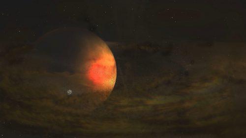 Spazio: una luna 'vulcanica' scoperta nello spazio