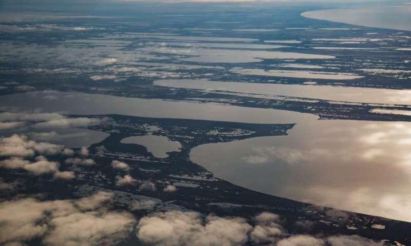 Siberia: scoperte emissioni di CO2 prodotte da laghi e fiumi