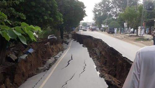 Forte terremoto in Pakistan: si aprono voragini nel terreno