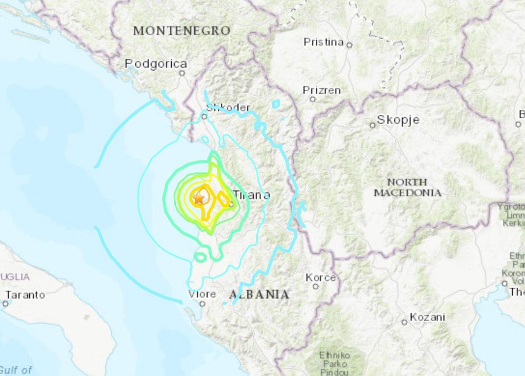 Terremoto Albania: scossa di 5.6 gradi. Oltre 50 feriti