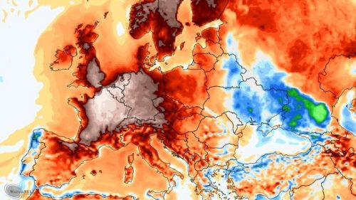 Ondata di caldo record verso l'Italia. In arrivo temperature record dal weekend