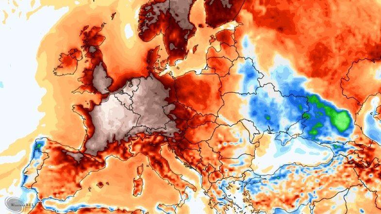 Ondata di caldo record verso l'Italia. In arrivo temperature record dal weekend