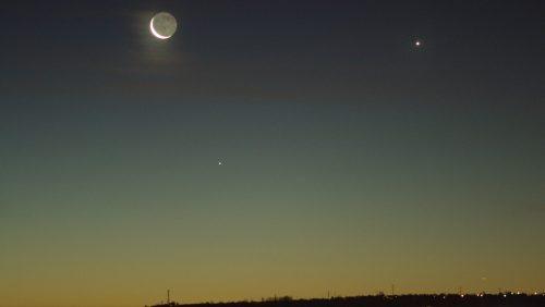 Congiunzione Luna, Mercurio e Venere: in arrivo evento unico