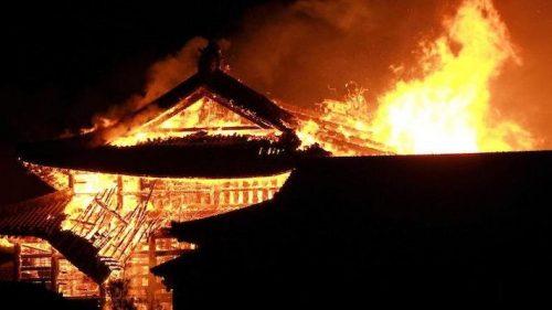 Giappone: incendio distrugge castello patrimonio dell'Unesco